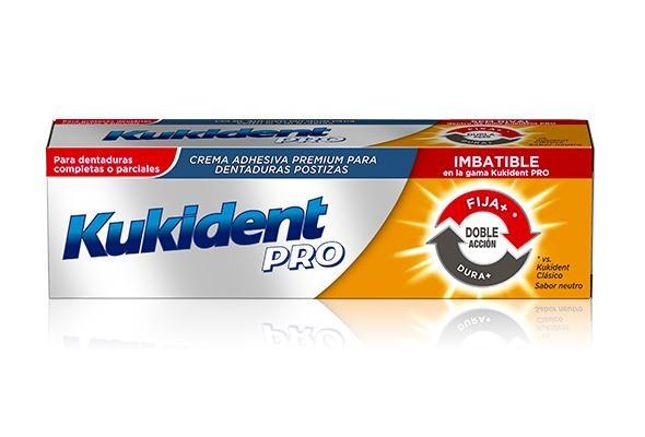 Kukident Pro Creme Dupla Ação Prótese 60g