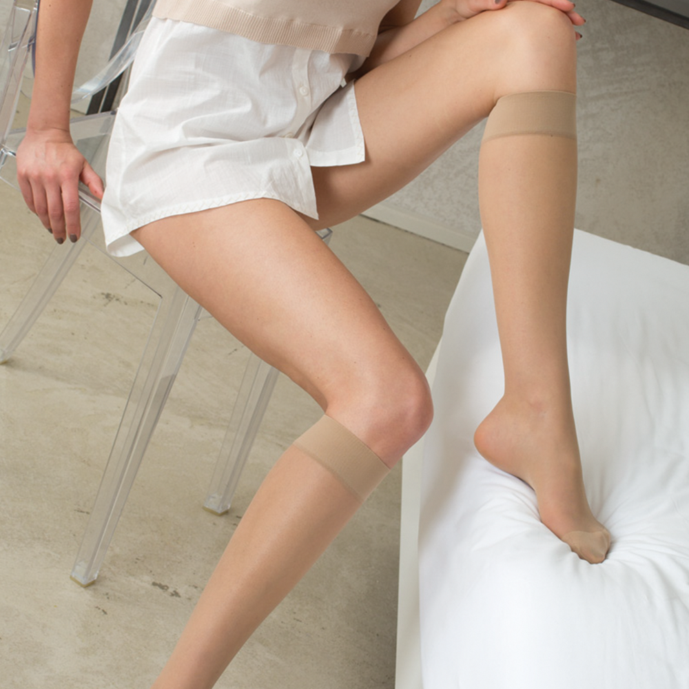 Relaxsan Basic Collants  880 At 140 T1 Bege Escuro