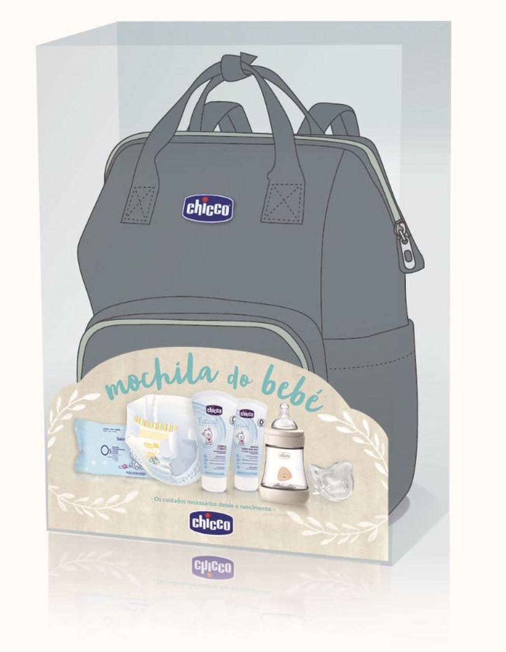 Chicco Mochila do Bebé-Maternidade Cinza