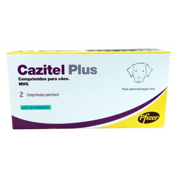 Cazitel Plus 2 Comprimidos