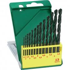 Set de 13 brocas de metal HSS-R