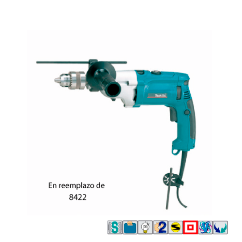 TALADRO PERCUTOR HP2070FX MAKITA