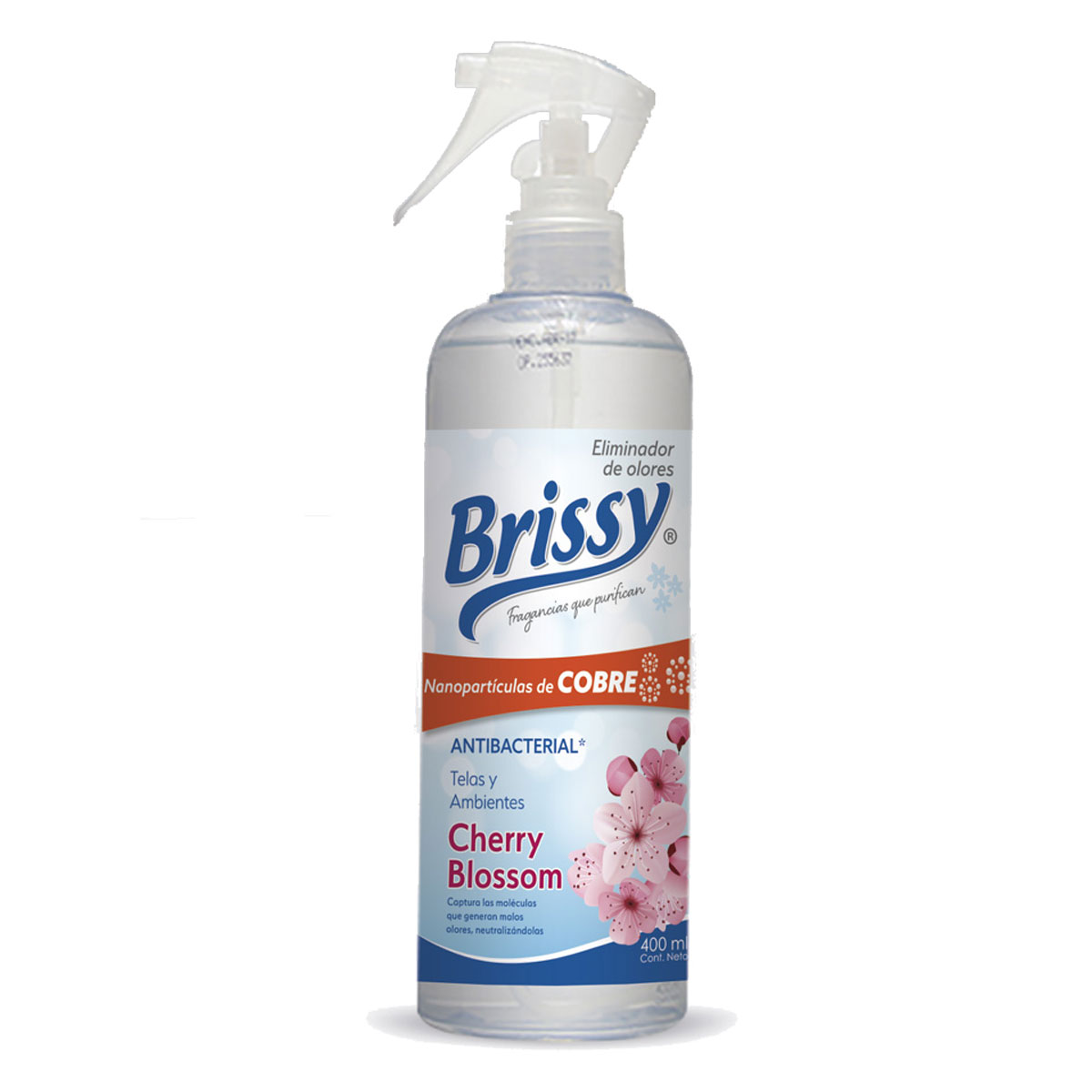 Spray eliminador de olores Antibacterial Cherry Blossom