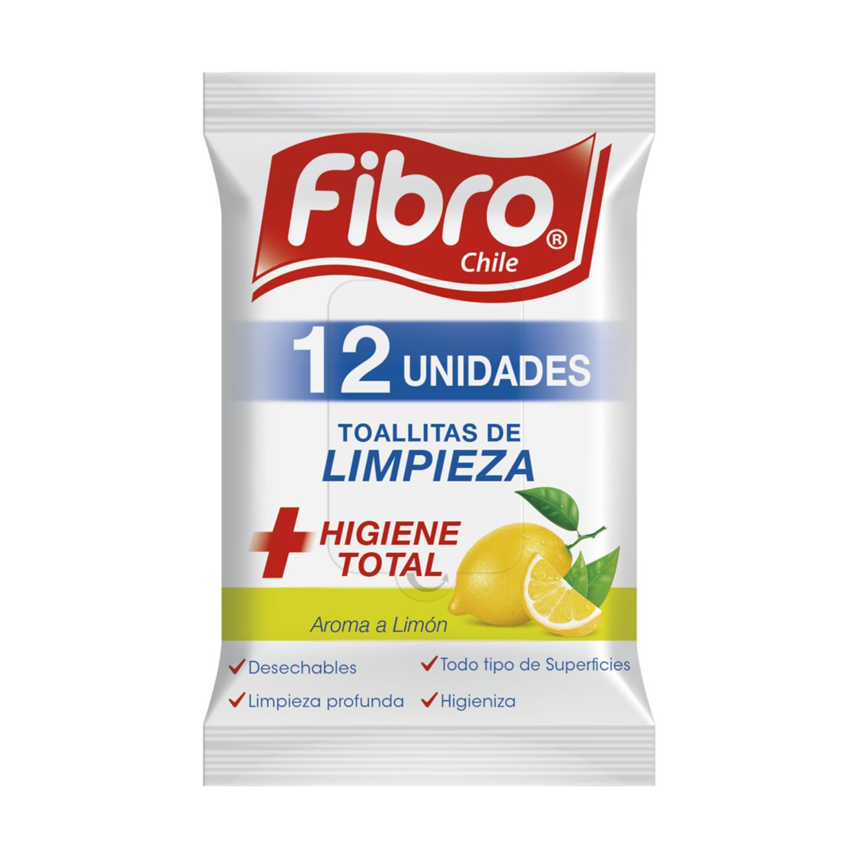 Wipes Pouch Limón 12 un
