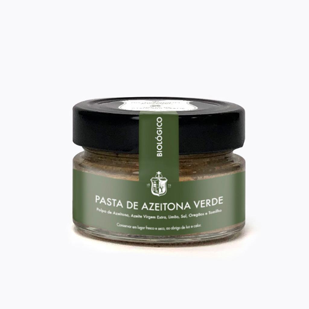 Pasta de Azeitona Verde Biológica 100g