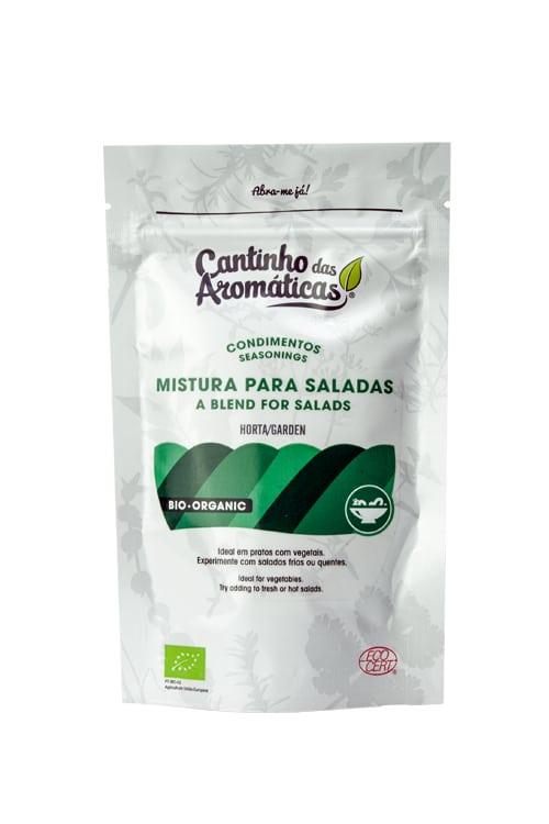 Condimentos da Horta – Mistura de Ervas Bio para Saladas