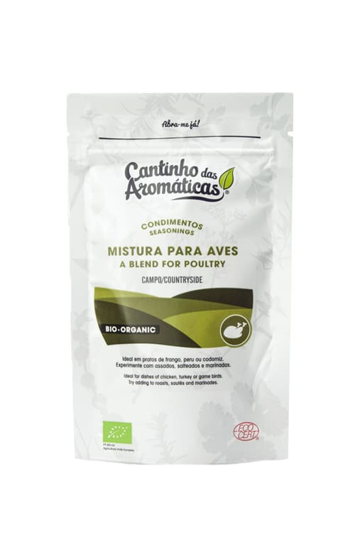 Condimentos do Campo - Mistura de Ervas Bio para Aves