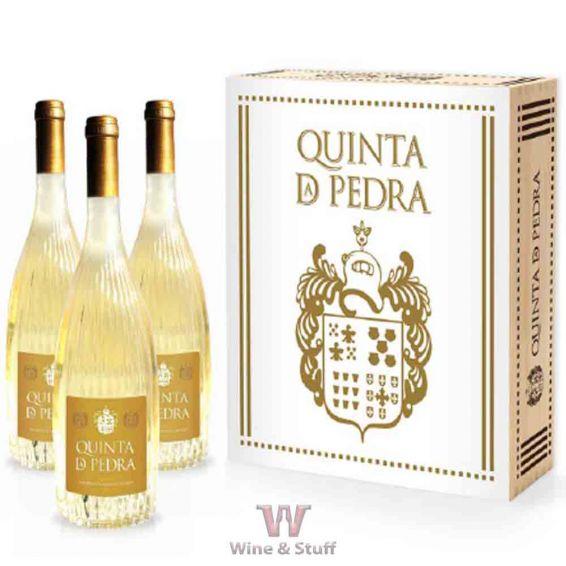 Quinta da Pedra Alvarinho 2014 Gold Edition Branco - Caixa 3 Garrafas