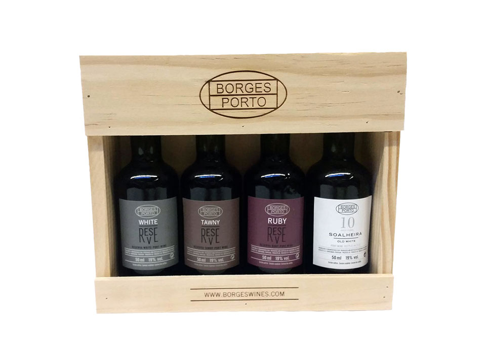 Vinho do Porto Wood Packaging