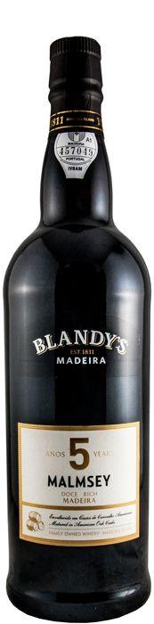 Madeira Malmsey 5 anos Blandy's