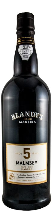 Blandy's 5 anos Malmsey