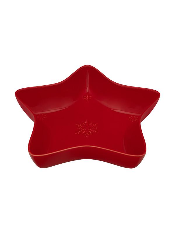 Snowflakes - Taça Estrela 37 Vermelho