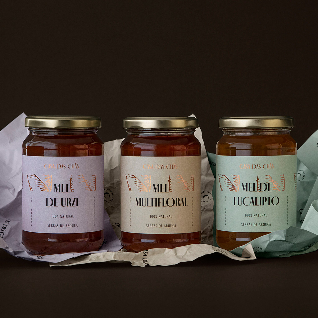 Casa das Chãs Pack Mel (Urze, Multifloral e Eucalipto)