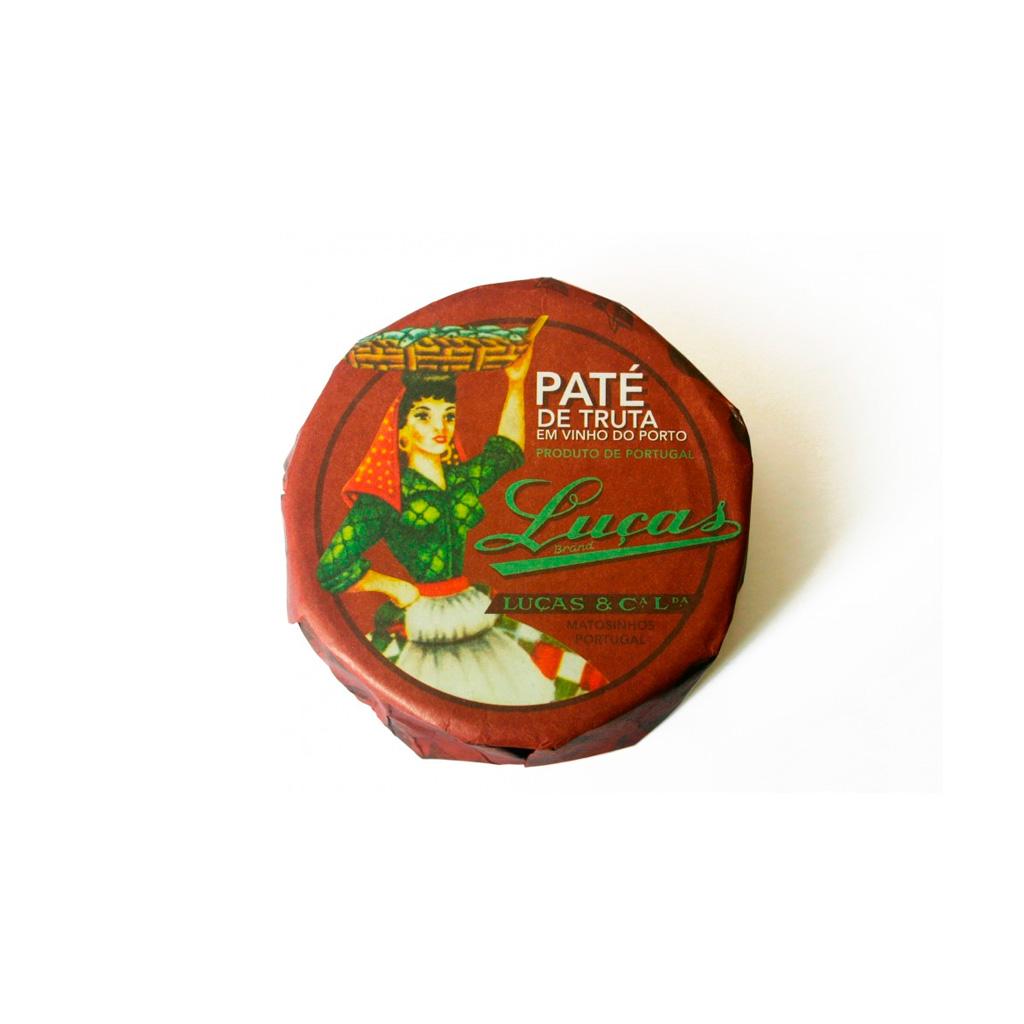 Paté de Truta com Vinho do Porto