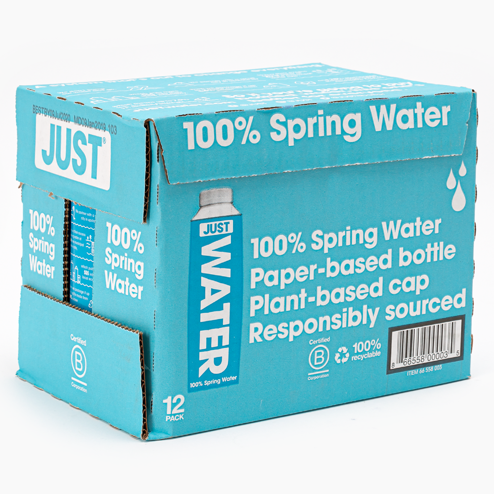 Agua Just Water 500 ml Pack 12 unidades
