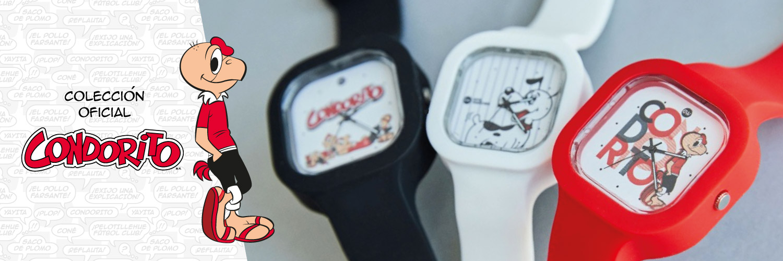 Relojes Condorito
