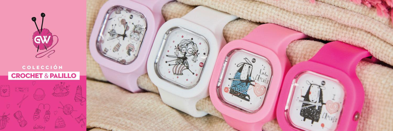 Relojes Crochet & Palillo
