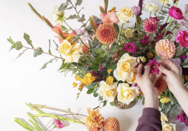 Workshop Centro De Mesa Floral / 17 de junio