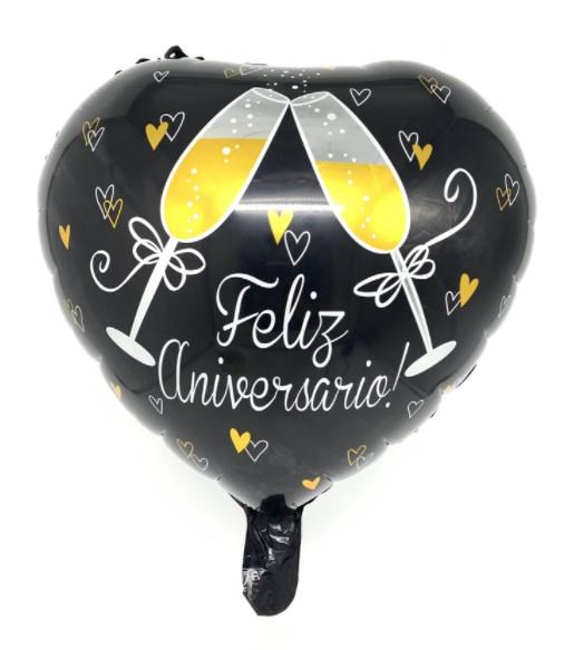 """Globo """"Feliz Aniversario"""""""