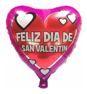 """Globo """"Feliz San Valentín"""""""