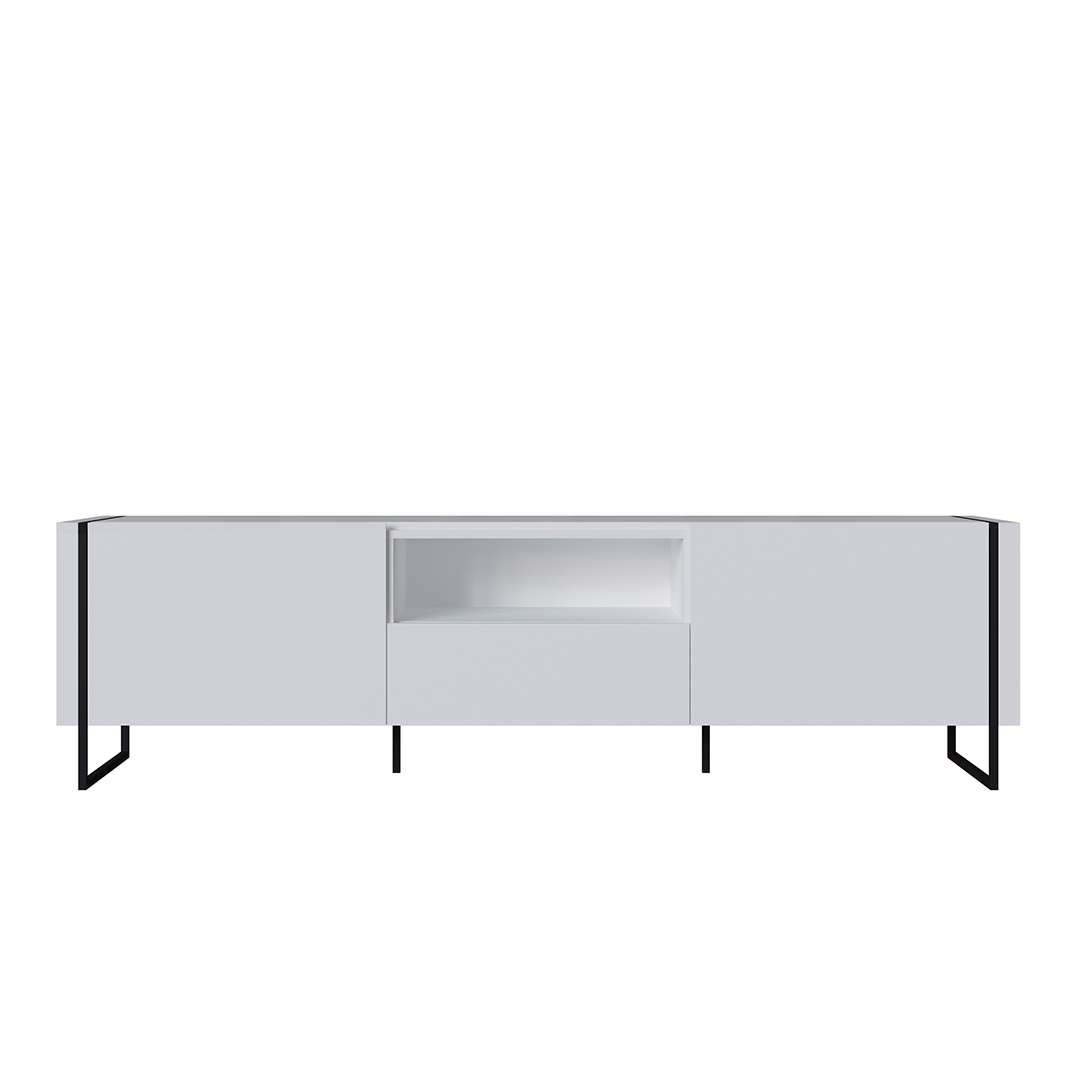 Rack Vesta Blanco con cajon 1.8  - Image 2