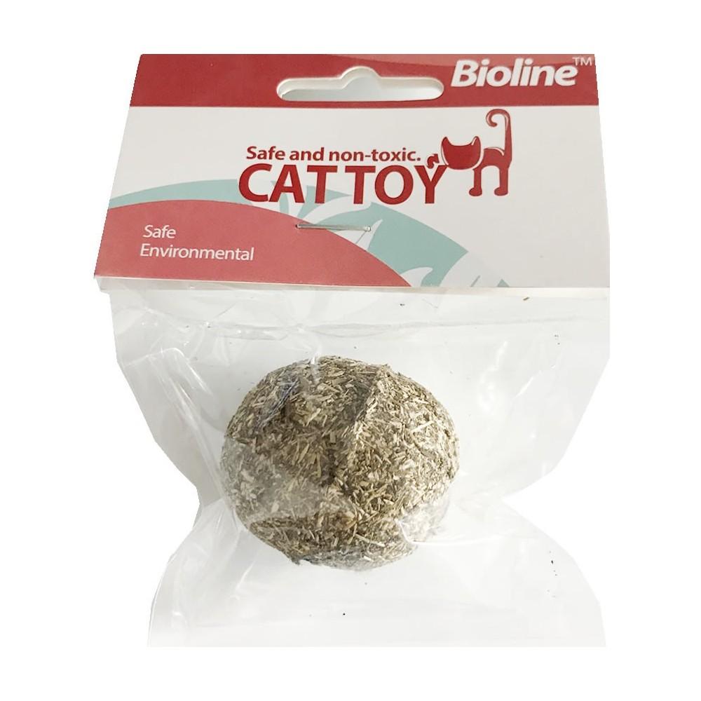 Bola Prensada Catnip Bioline
