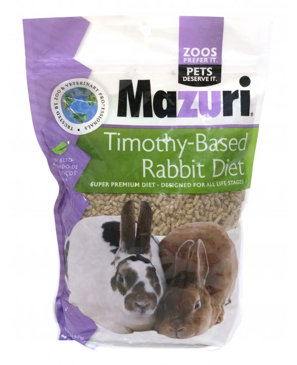 Mazuri Conejo Timothy Rabbit Diet 1 Kg