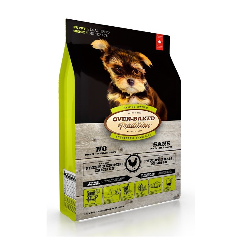 Oven-Baked Tradition Puppy Small Chicken 2,27 Kg
