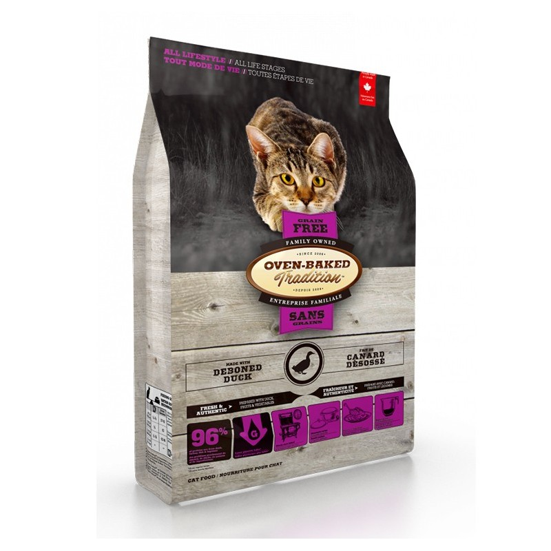 Oven-Baked Grain Free Cat Duck 2,27 Kg