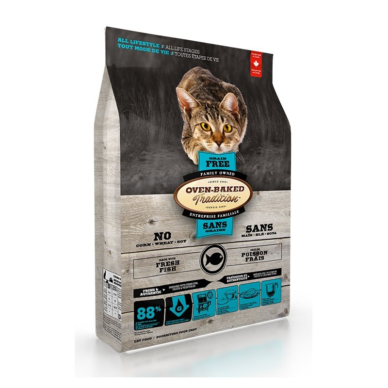 Oven-Baked Grain Free Cat Fish 2,27 Kg