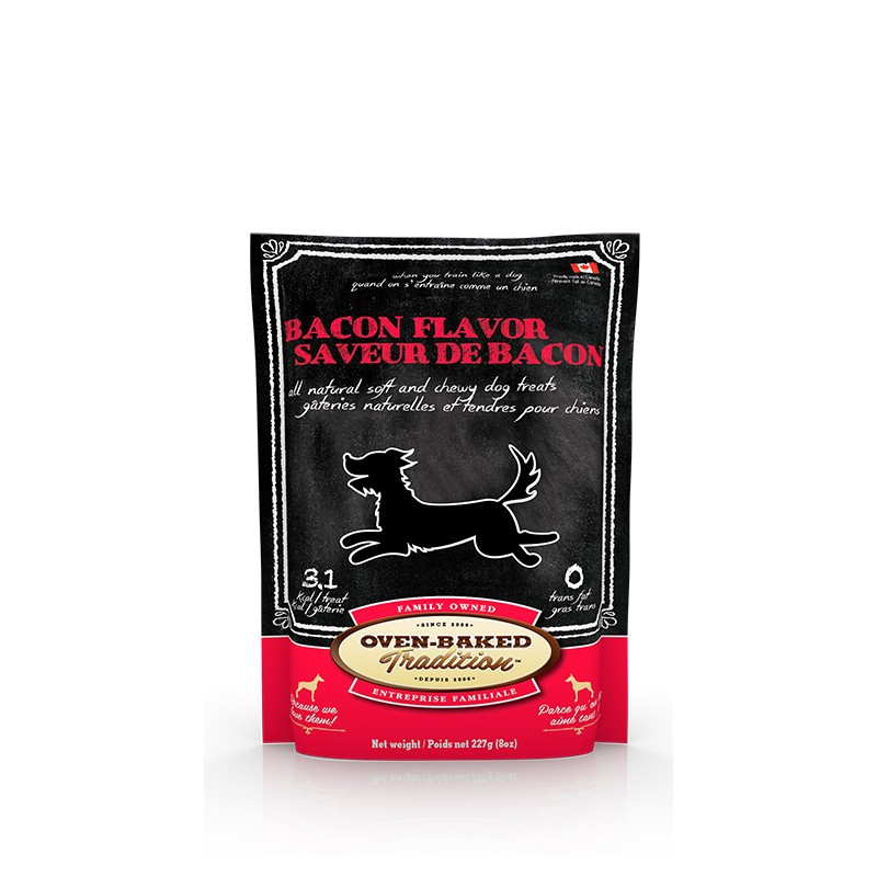 OBT Snack Dog Treat Bacon 227 G