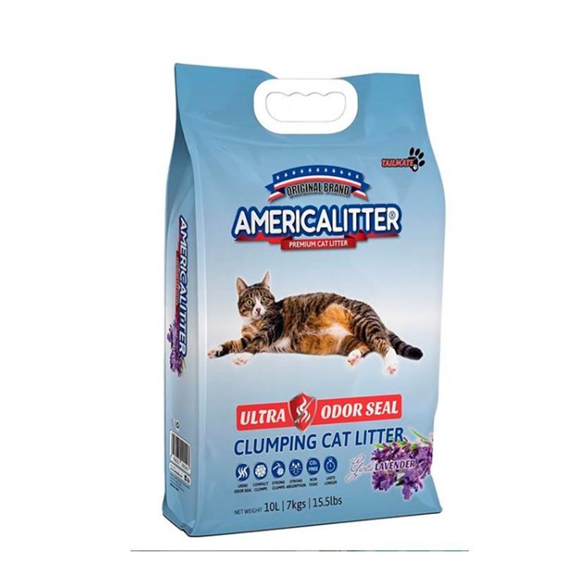 AmericaLitter Ultra Odor Seal Lavanda 7Kg