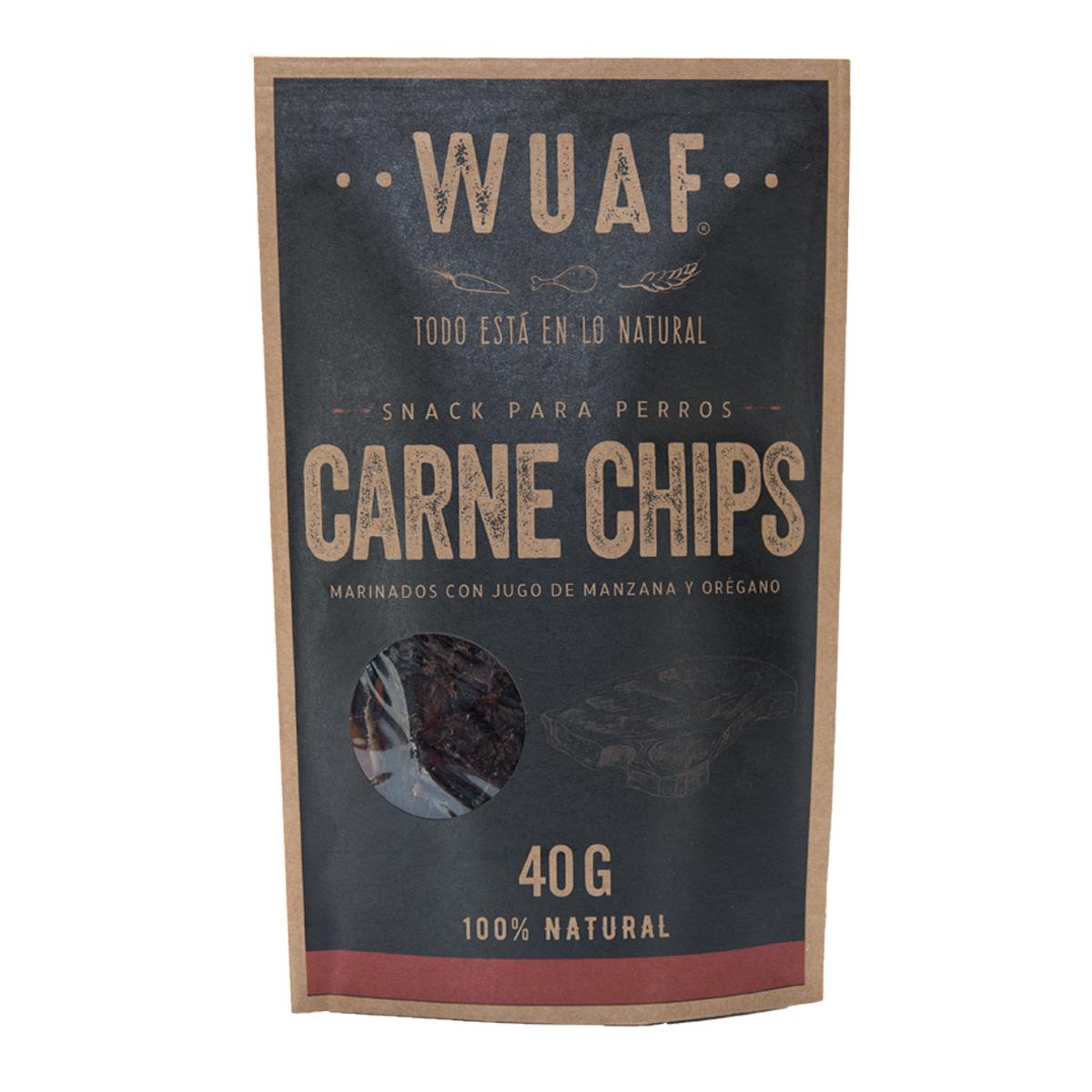 Wuaf Chip Carne 40g
