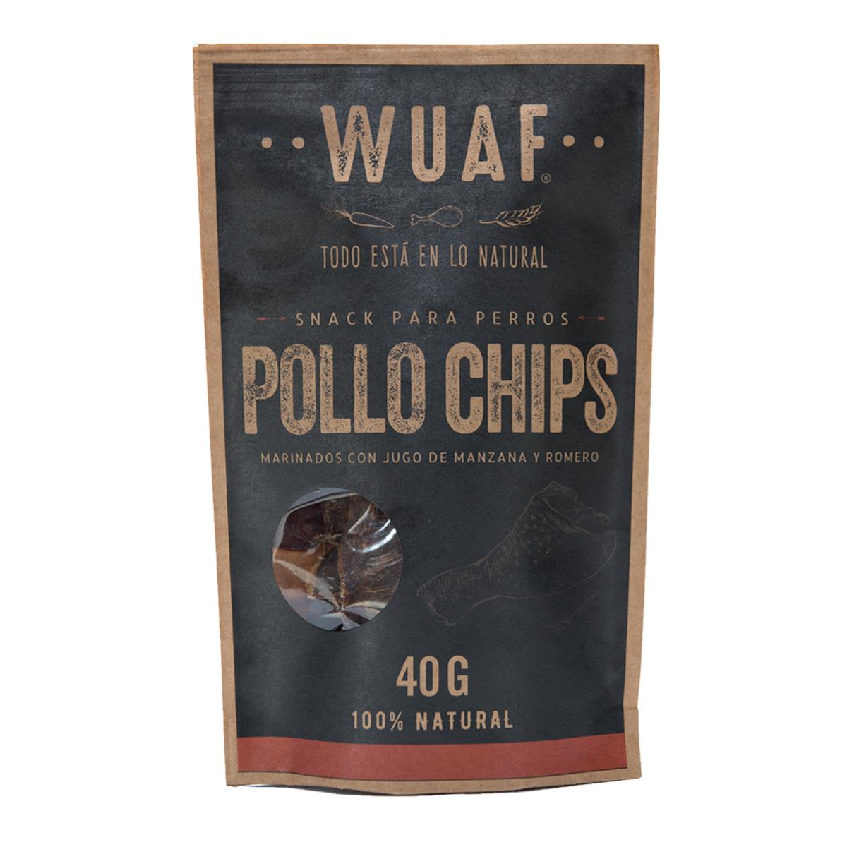 Wuaf Chip Pollo 40g