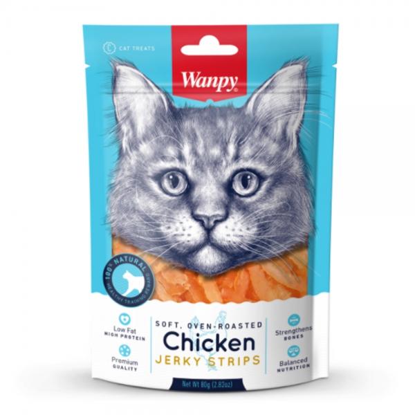 Snack Wanpy Pollo - Gato 80 gr