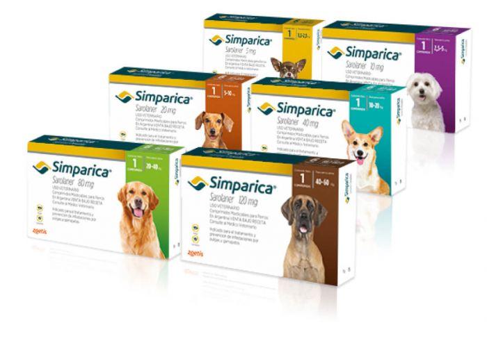 Simparica 1 Comprimido - Antiparacitario Para Perros
