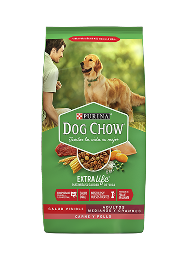 Purina Dog Chow Adultos Pollo y Pavo 18kg