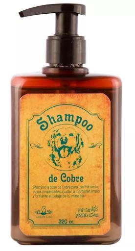 Shampoo de Cobre Pets Friends 320 cc