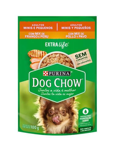 Alimento Humedo Dog Chow Adulto Mix Pollo Pavo