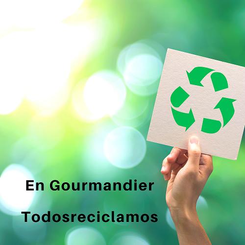 Gourmandier recicla