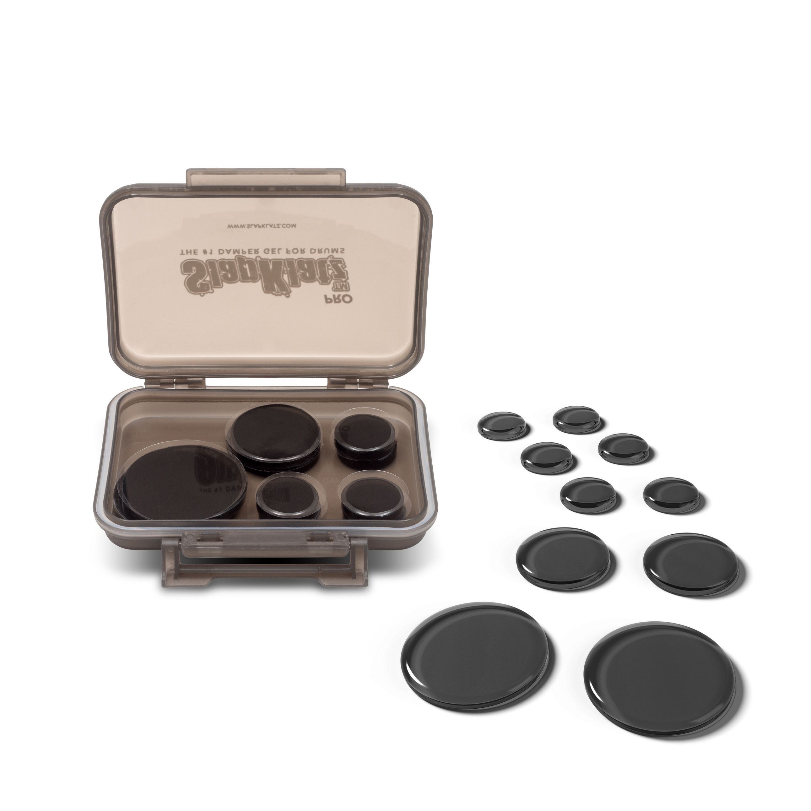 Slapklatz - Black / Damper Gel Para Baterias Y Platillos