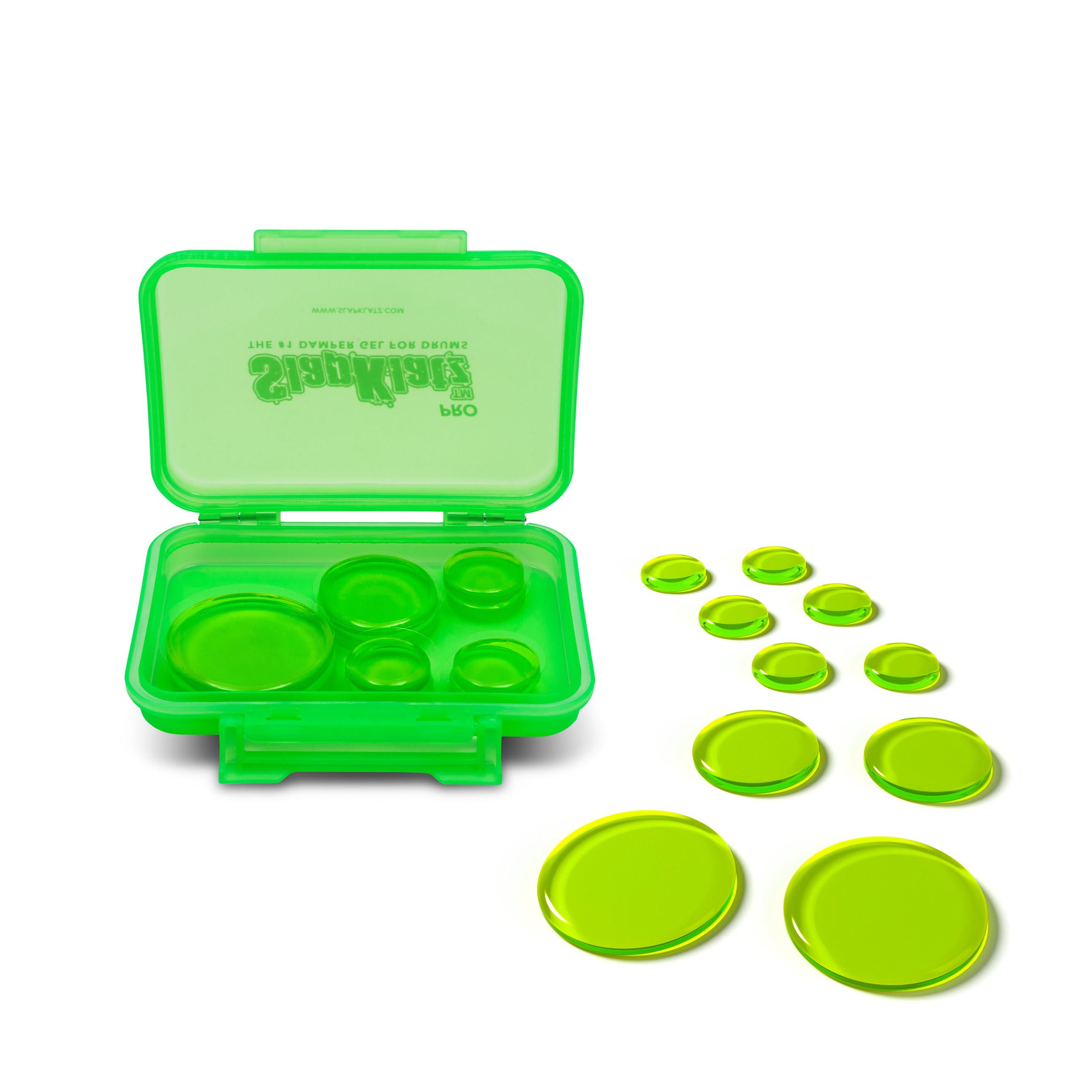 Slapklatz - Alien Green / Damper Gel Para Baterias Y Platillos