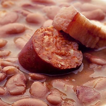 Fríjoles con Chorizo Español