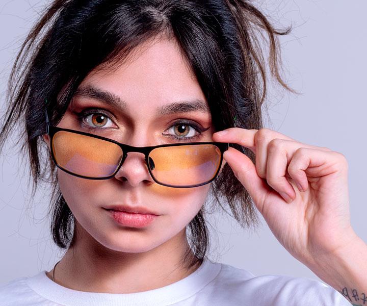 lentes para niñas con filtro de luz azul blueblock technology