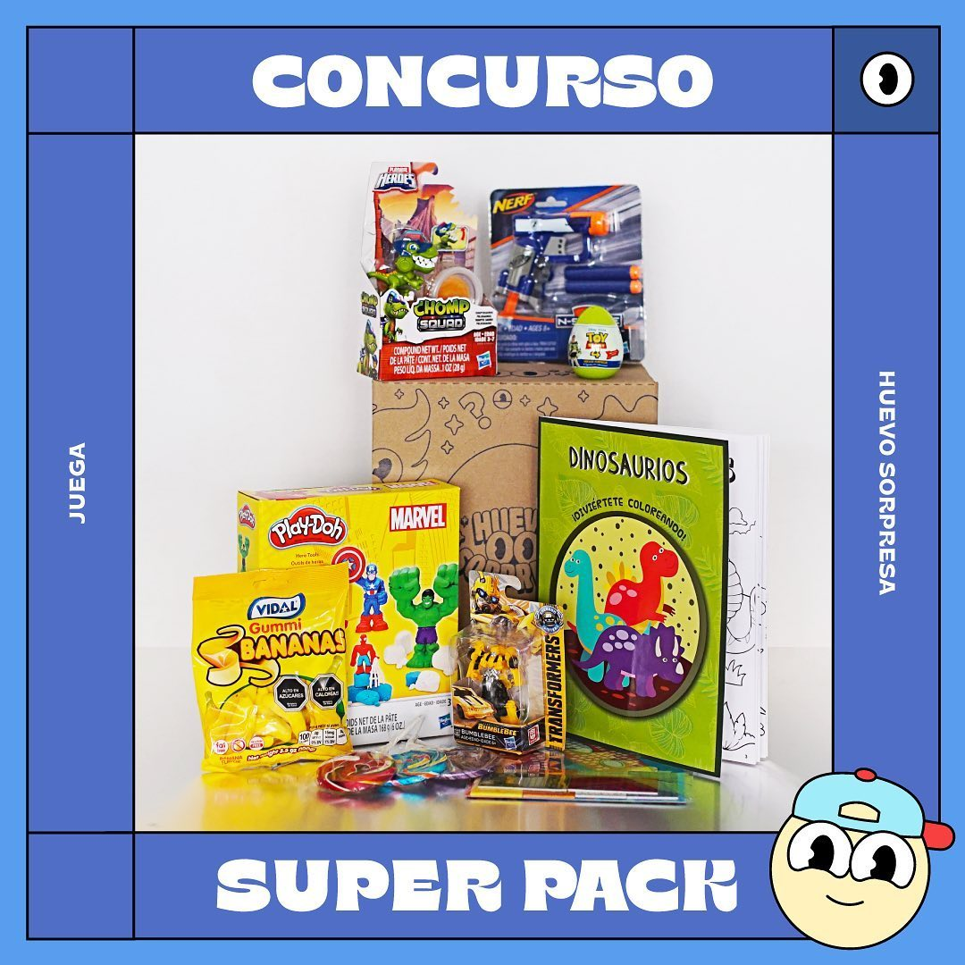 Bases Concurso HuevoSorpresa Super Pack / Finalizado