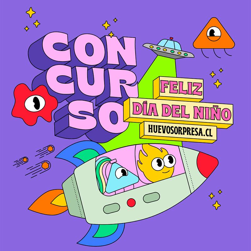 Bases Concurso Día del Niñ@ / CoheteSorpresa / Finalizado