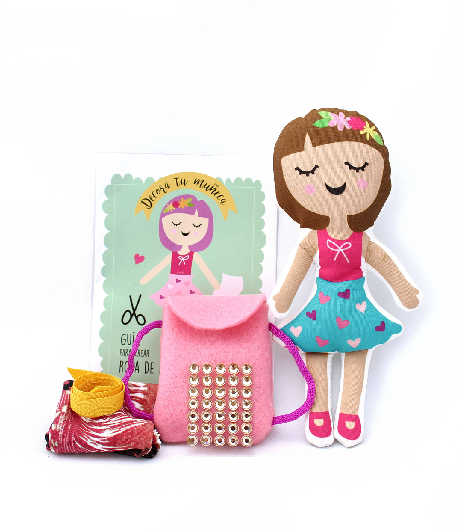 Muñeca con adornos