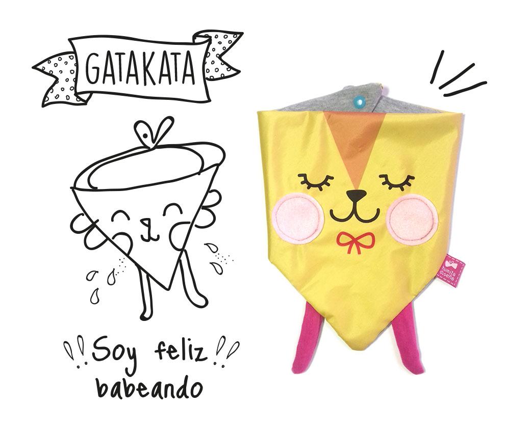 Babero Gatata