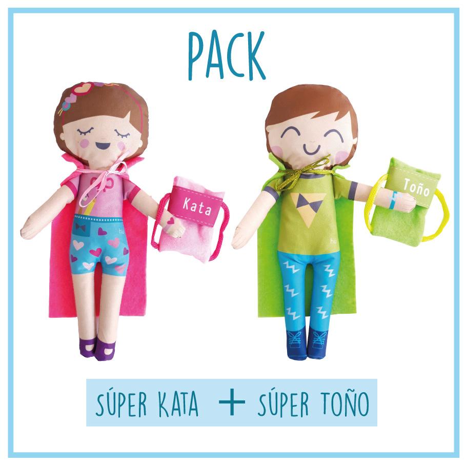 Pack Kata y Toño