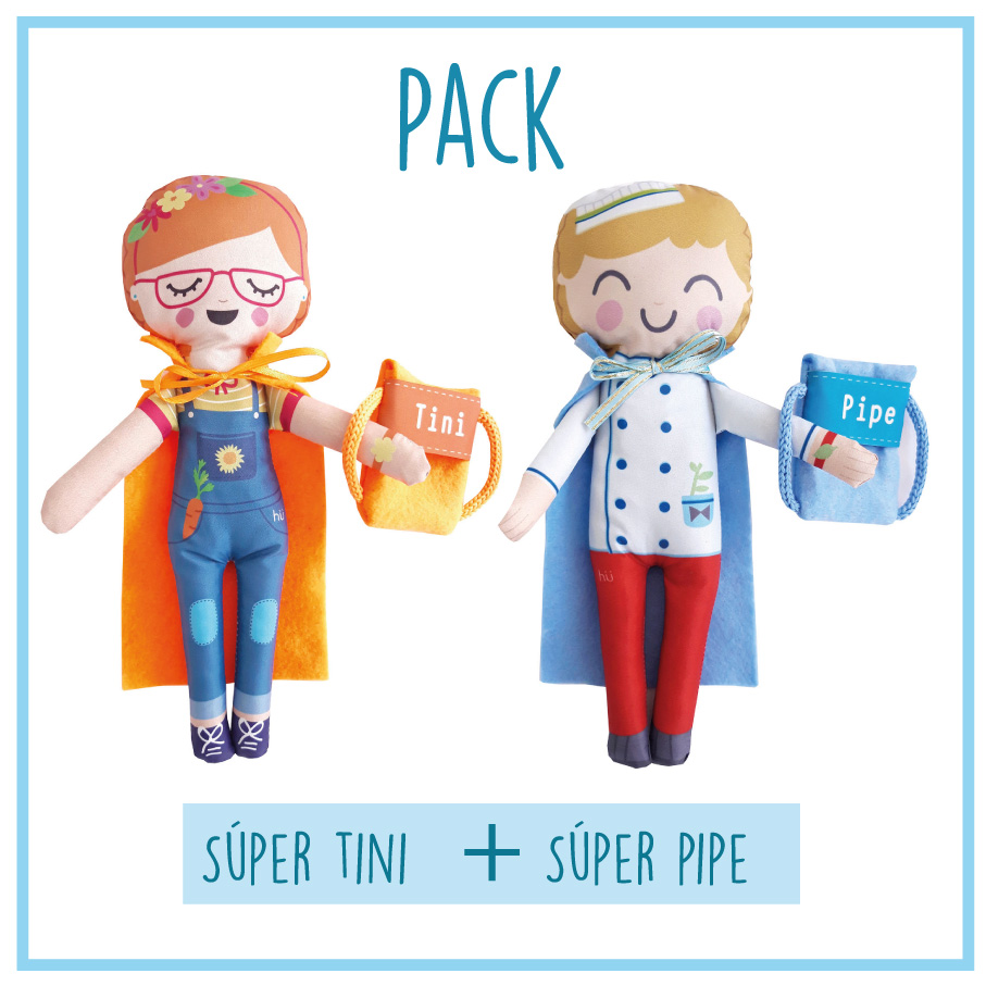 Pack Tini y Pipe